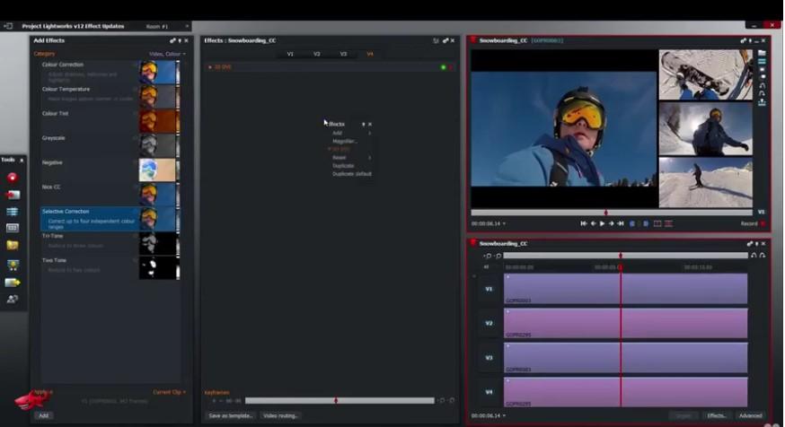 editor de vídeo fácil de usar lightworks