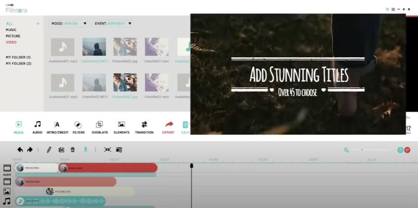 editor de vídeo fácil de usar wondershare filmora